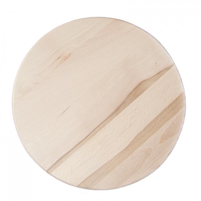 Scaun din lemn BAR crud [2]
