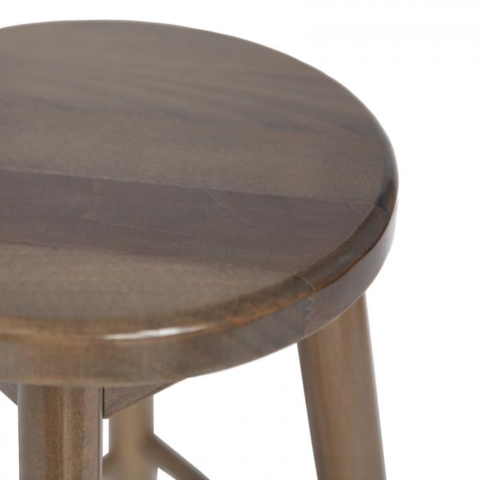 Scaun din lemn BAR maro-trufa [3]