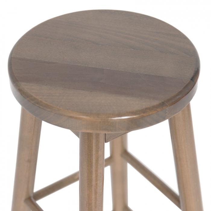 Scaun din lemn BAR maro-trufa [2]