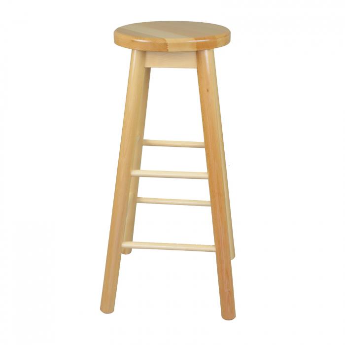 Scaun din lemn BAR natur [1]