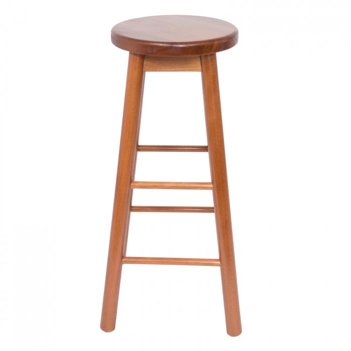 Scaun din lemn BAR nuc [2]