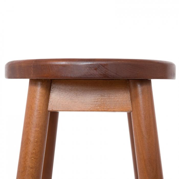 Scaun din lemn BAR nuc [3]