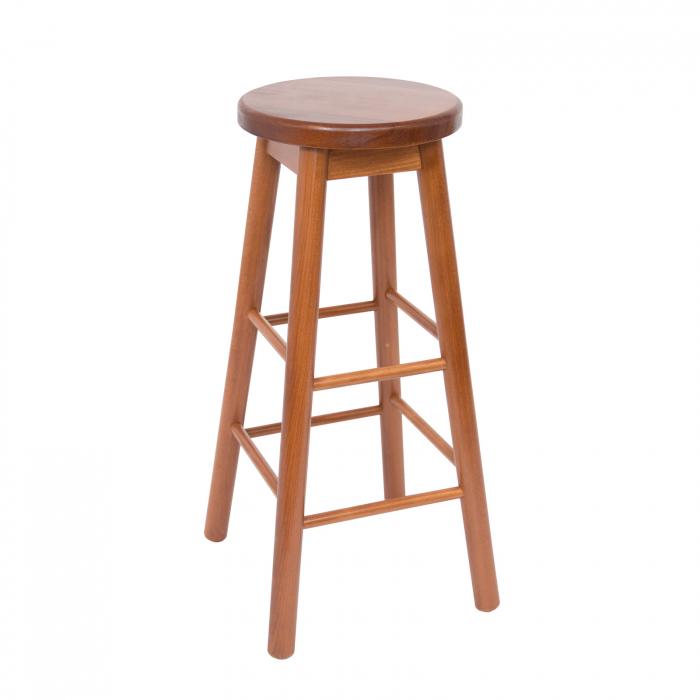 Scaun din lemn BAR nuc [0]