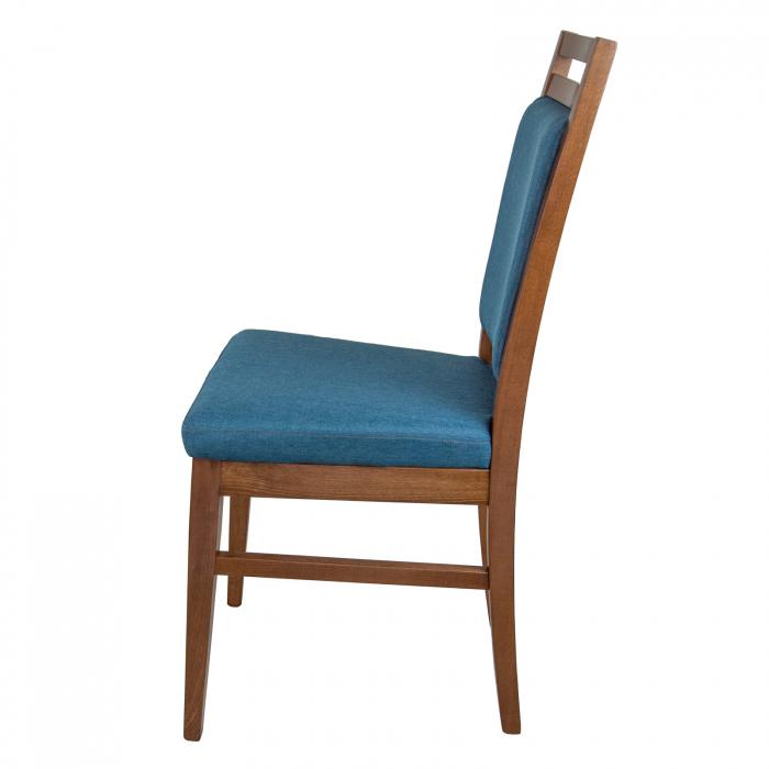 Scaun din lemn Jane tapitat nuc [5]