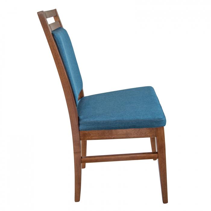Scaun din lemn Jane tapitat nuc [1]