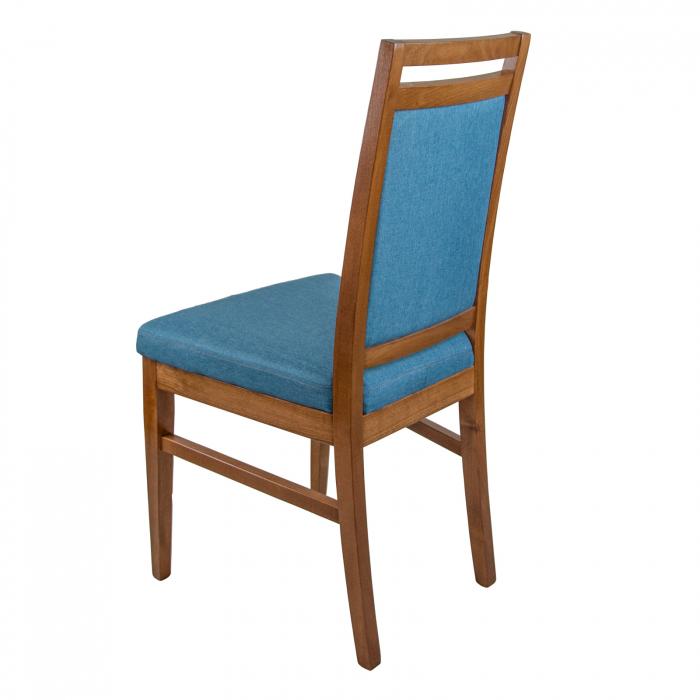 Scaun din lemn Jane tapitat nuc [4]