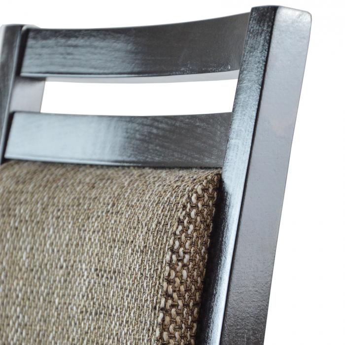 Scaun din lemn Jane tapitat wenge [2]