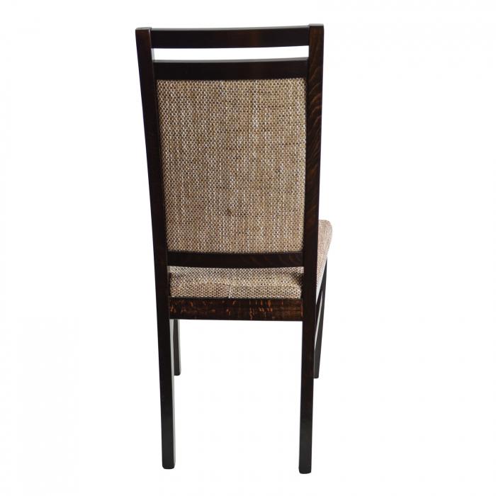 Scaun din lemn Jane tapitat wenge [1]