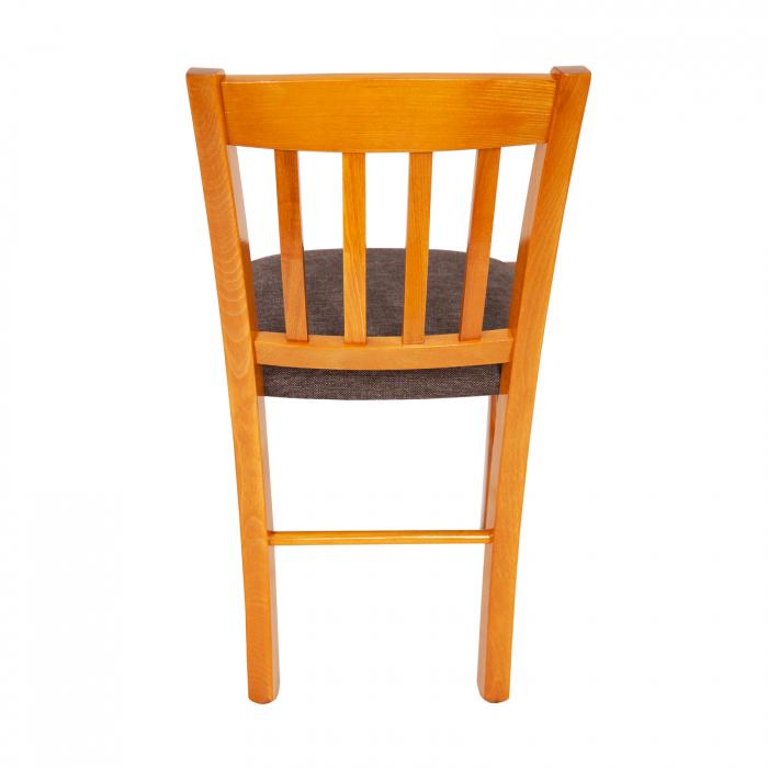 Scaun din lemn Madeira tapitat cires [3]