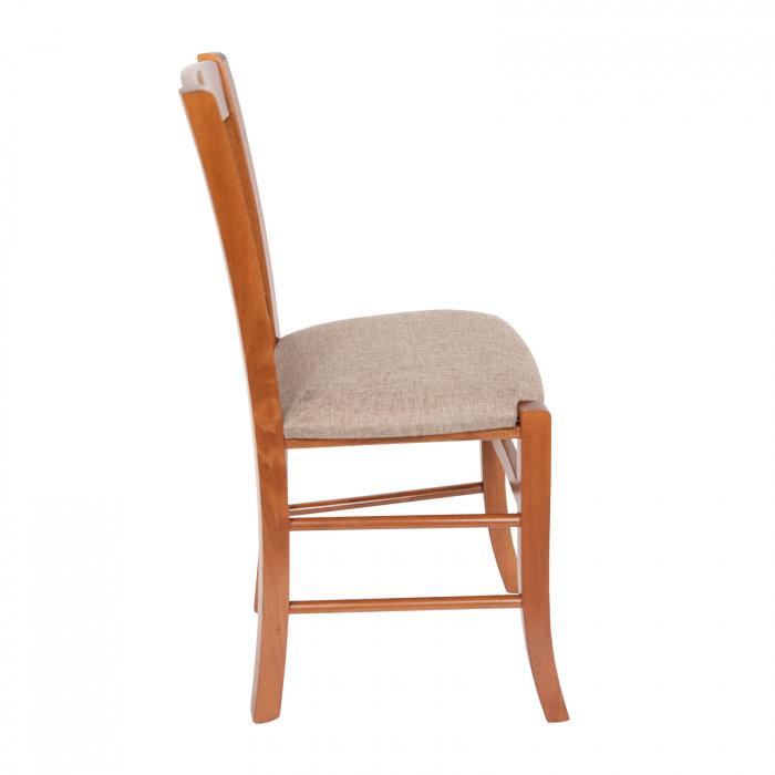 Scaun din lemn Madeira tapitat nuc [1]