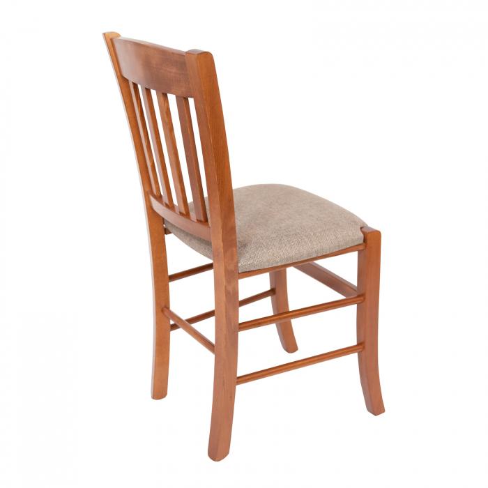 Scaun din lemn Madeira tapitat nuc [2]