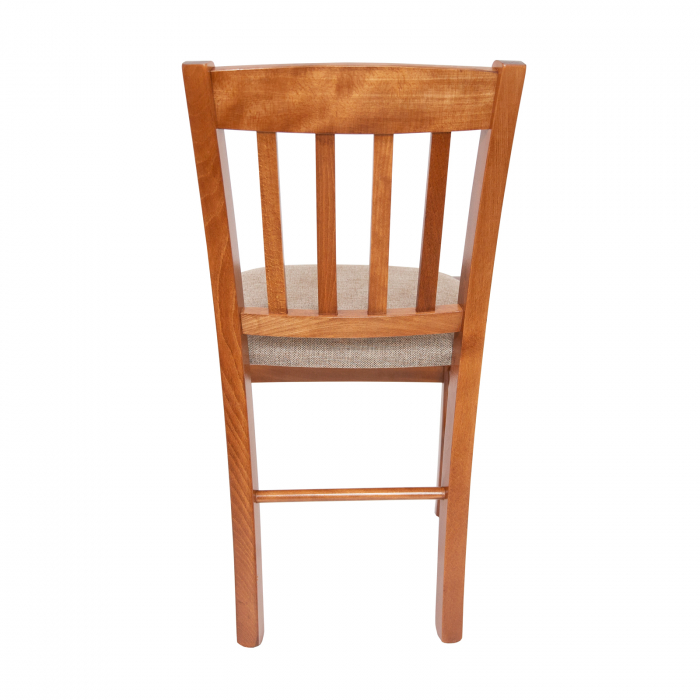 Scaun din lemn Madeira tapitat nuc [3]