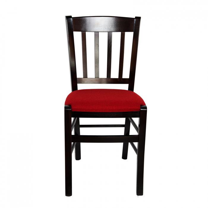 Scaun din lemn Madeira tapitat wenge [7]