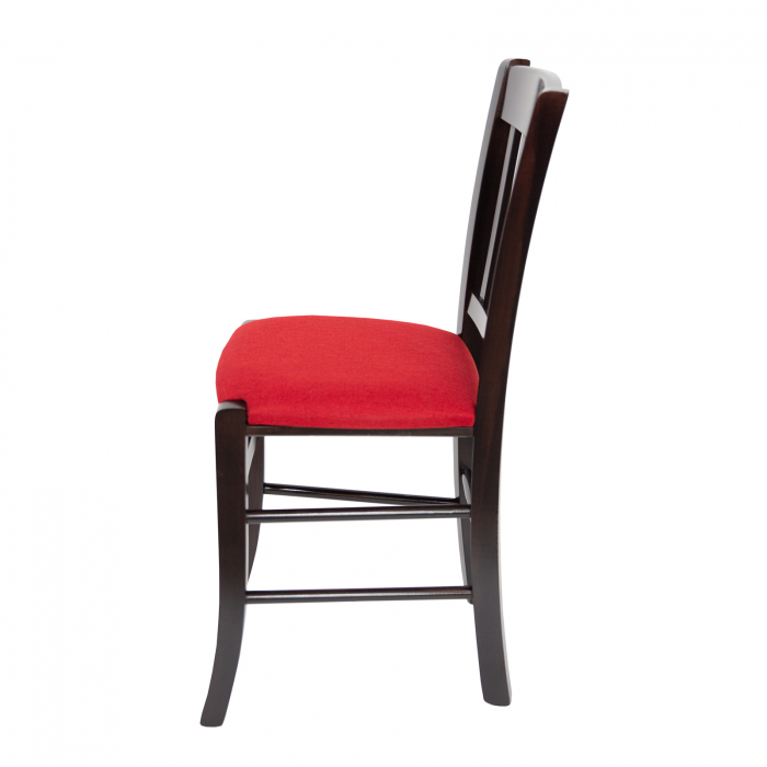 Scaun din lemn Madeira tapitat wenge [5]