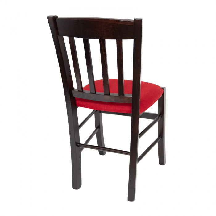 Scaun din lemn Madeira tapitat wenge [2]
