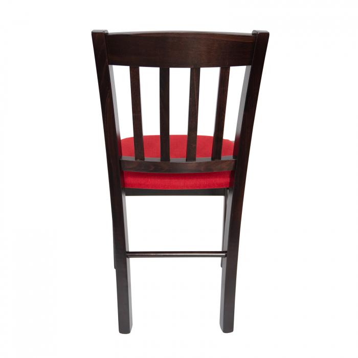 Scaun din lemn Madeira tapitat wenge [3]