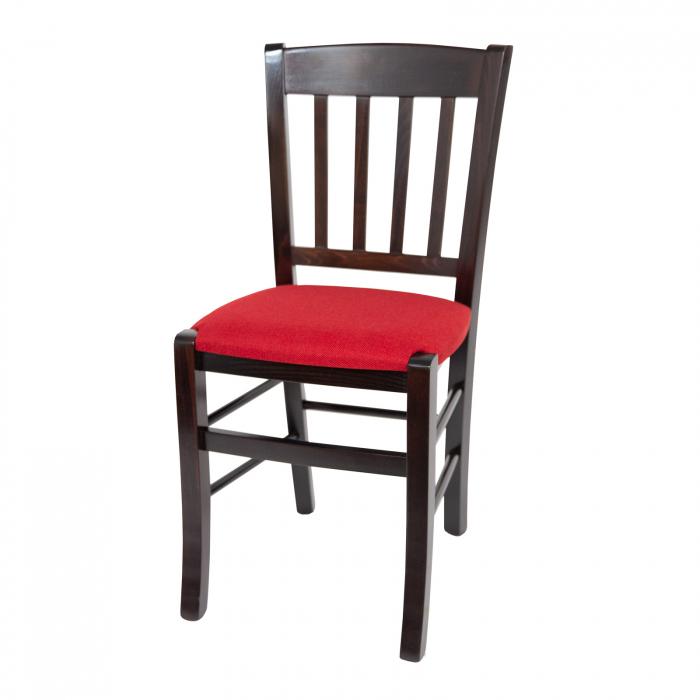 Scaun din lemn Madeira tapitat wenge [6]