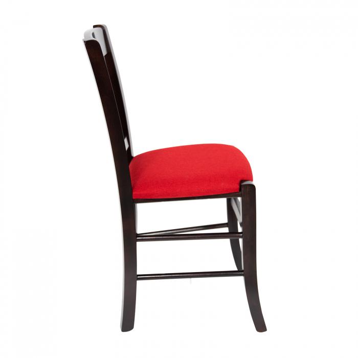 Scaun din lemn Madeira tapitat wenge [1]