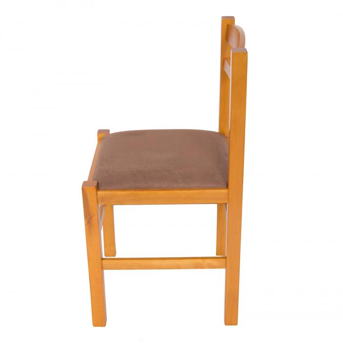Scaun din lemn Pisa tapitat cires [5]