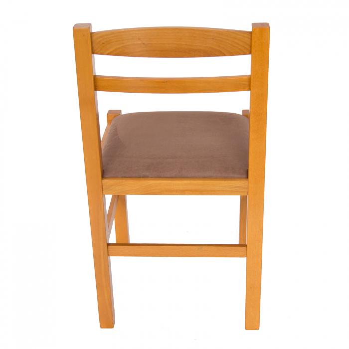 Scaun din lemn Pisa tapitat cires [3]