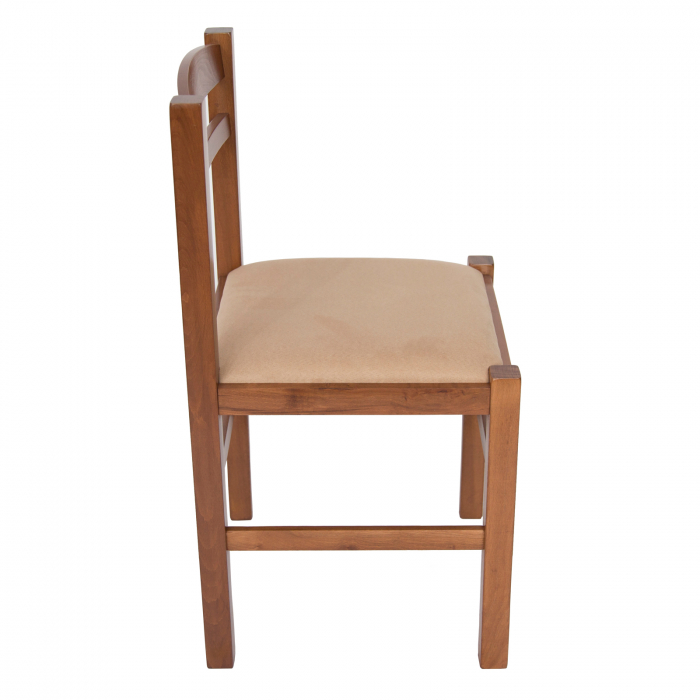 Scaun din lemn Pisa tapitat nuc [1]