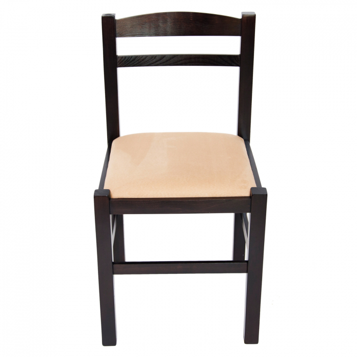 Scaun din lemn Pisa tapitat wenge [7]