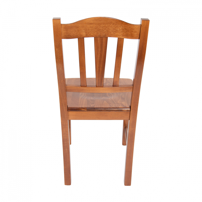 Scaun din lemn Silvana masiv nuc [2]