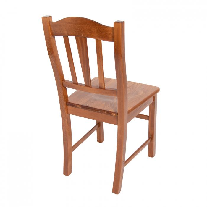 Scaun din lemn Silvana masiv nuc [1]