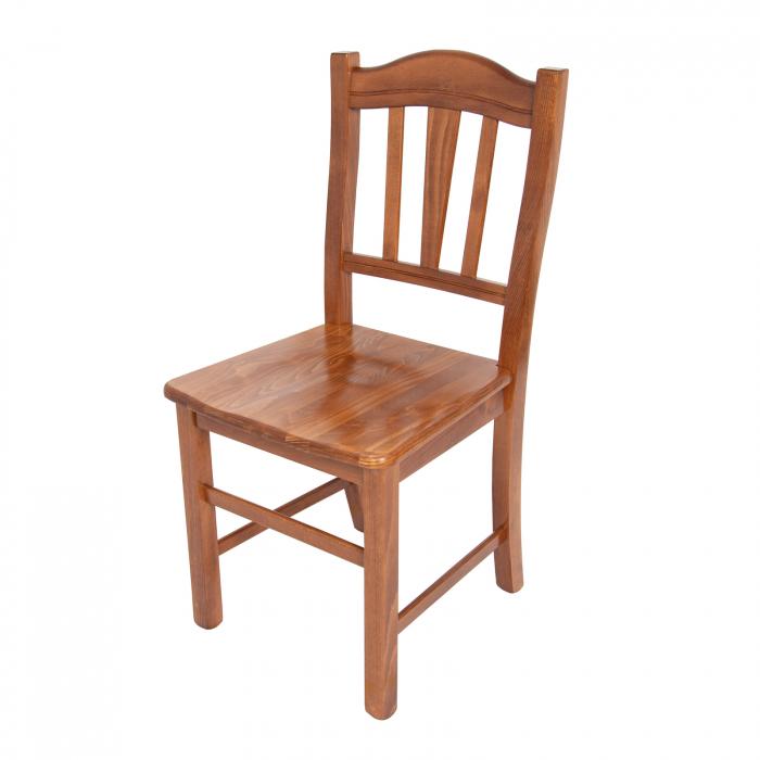 Scaun din lemn Silvana masiv nuc [3]