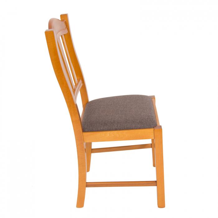 Scaun din lemn Silvana tapitat cires [1]