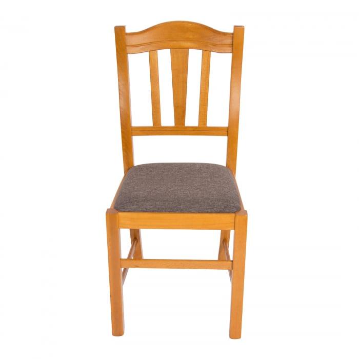 Scaun din lemn Silvana tapitat cires [6]