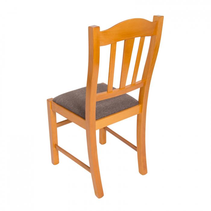 Scaun din lemn Silvana tapitat cires [3]