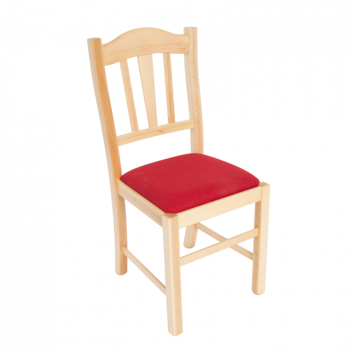 Scaun din lemn Silvana tapitat natur [0]