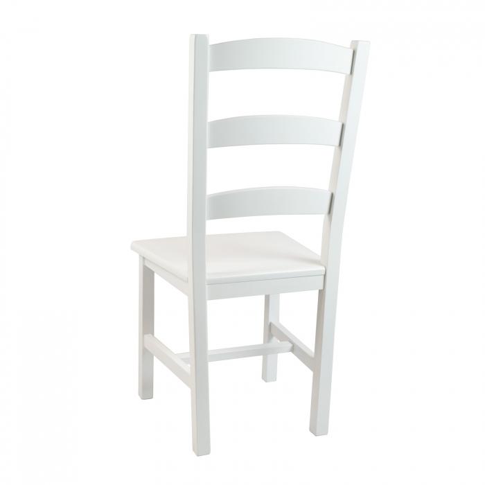 Scaun din lemn Sonya Modern masiv alb [2]