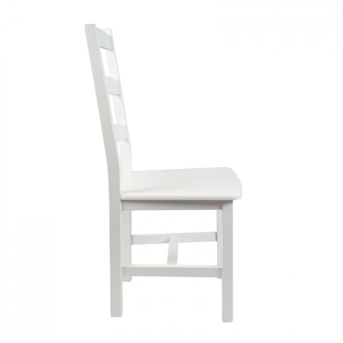 Scaun din lemn Sonya Modern masiv alb [1]