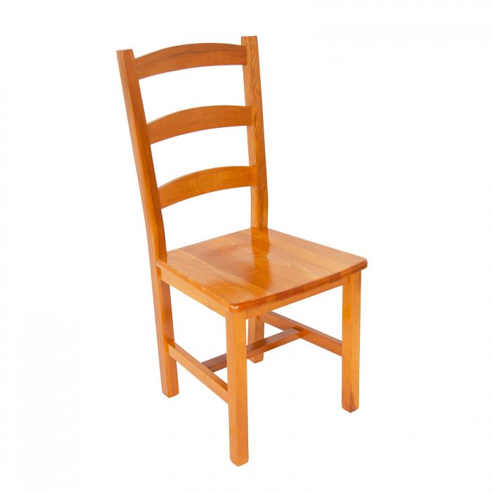 Scaun din lemn Sonya Modern masiv cires [0]