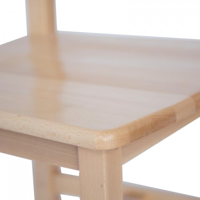 Scaun din lemn Sonya Modern masiv natur [4]