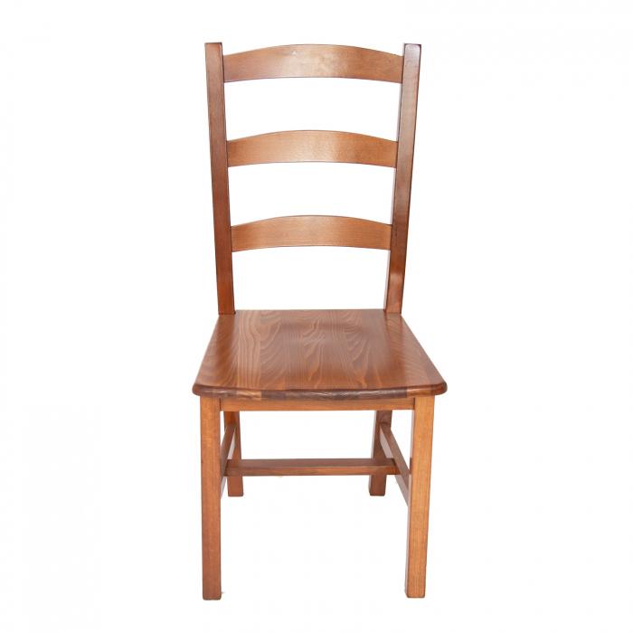 Scaun din lemn Sonya Modern masiv nuc [4]