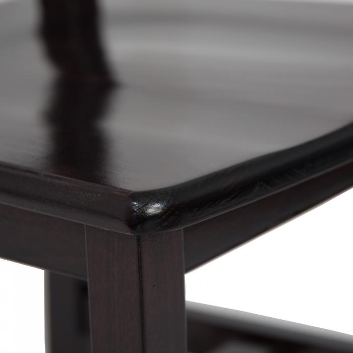 Scaun din lemn Sonya Modern masiv wenge [5]