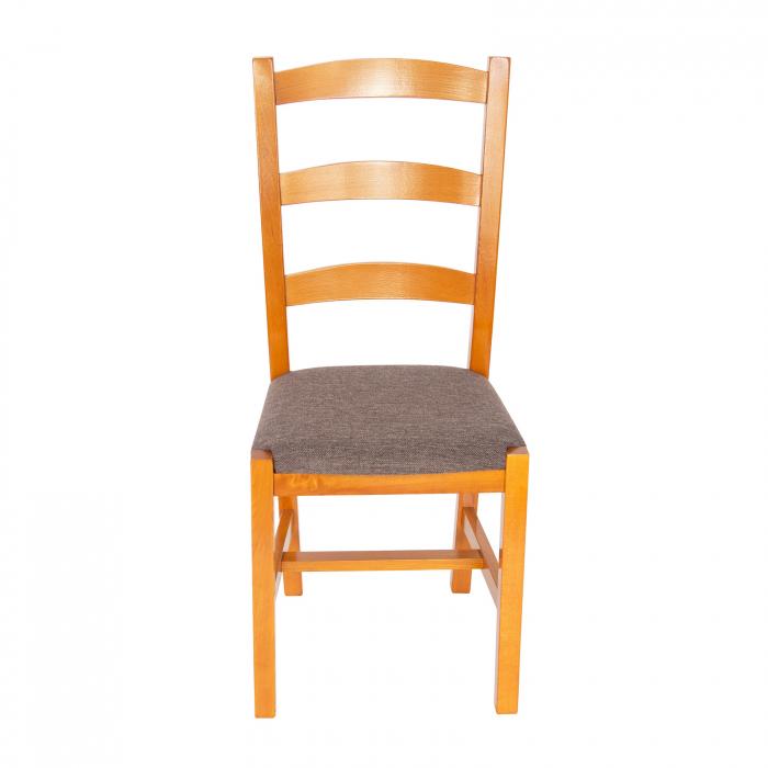 Scaun din lemn Sonya Modern tapitat cires [4]