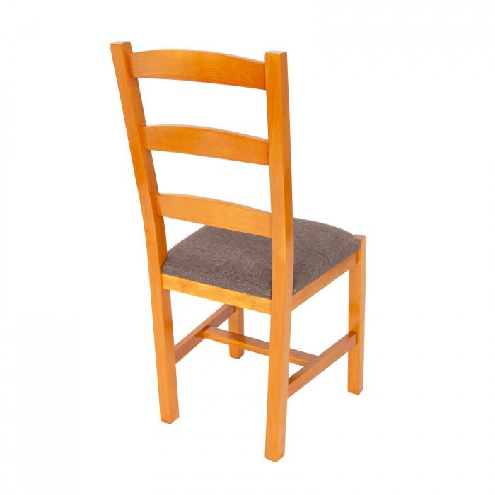 Scaun din lemn Sonya Modern tapitat cires [2]