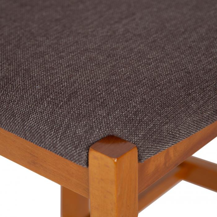 Scaun din lemn Sonya Modern tapitat cires [5]