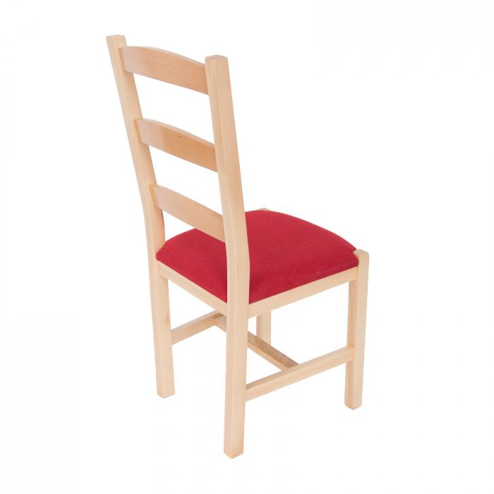 Scaun din lemn Sonya Modern tapitat natur [1]