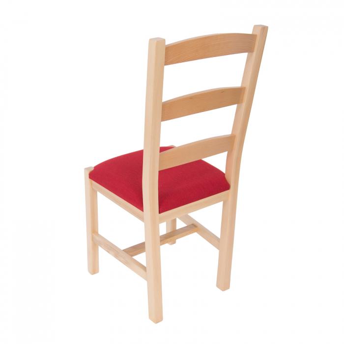 Scaun din lemn Sonya Modern tapitat natur [2]