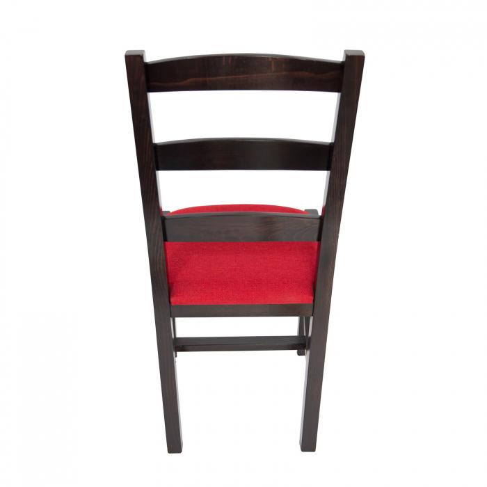Scaun din lemn Sonya Modern tapitat wenge [3]
