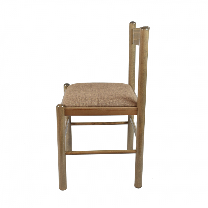 Scaun din lemn Toronto tapitat maro-trufa [1]