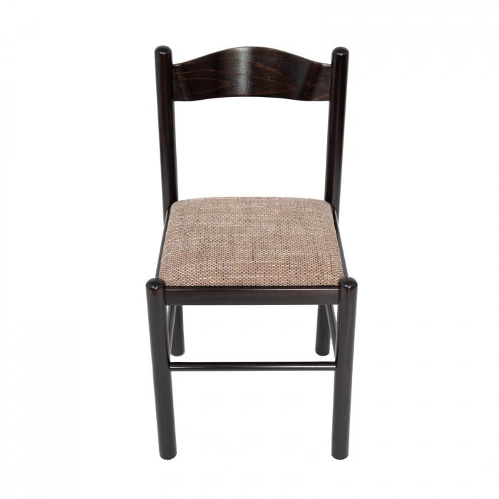 Scaun din lemn Toronto tapitat wenge [5]