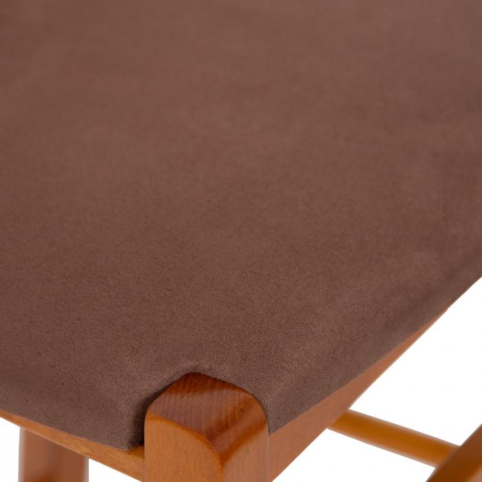 Scaun din lemn Venetia bar tapitat cires [7]