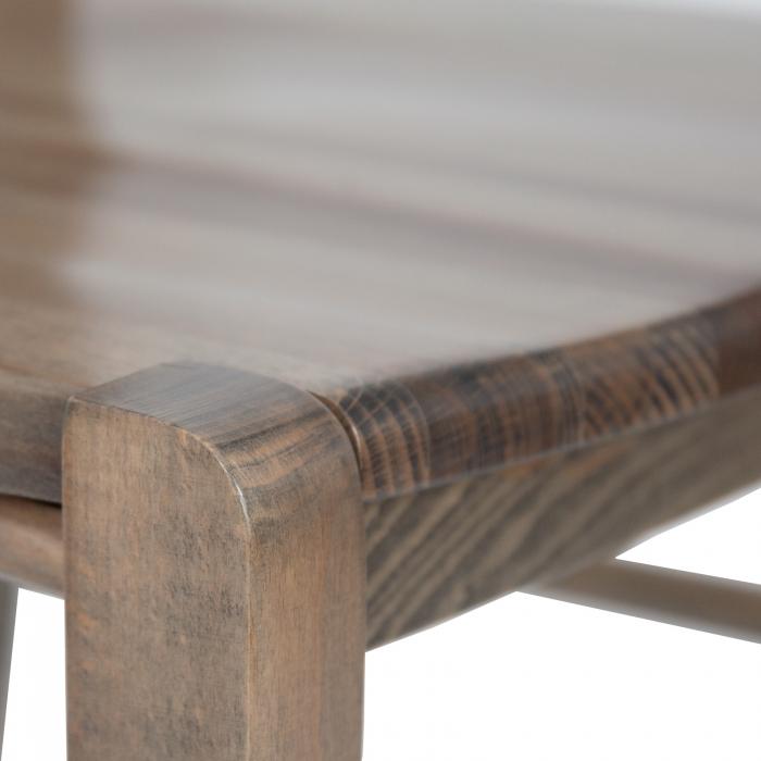 Scaun din lemn Venetia masiv maro-trufa [8]