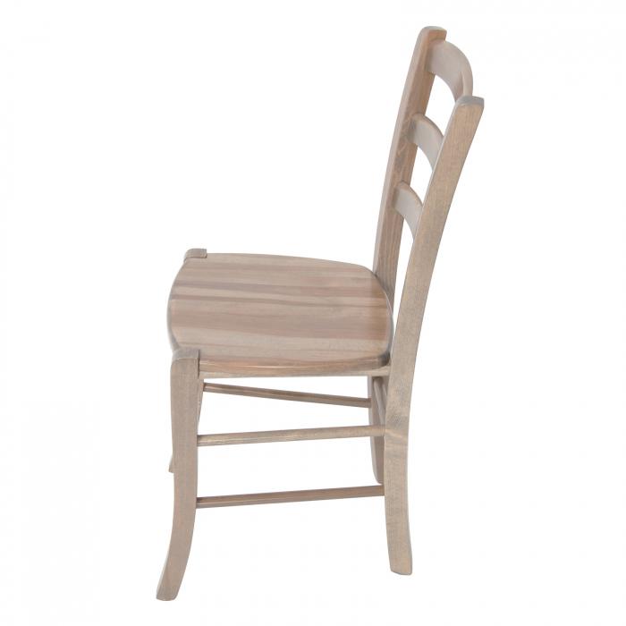 Scaun din lemn Venetia masiv maro-trufa [5]